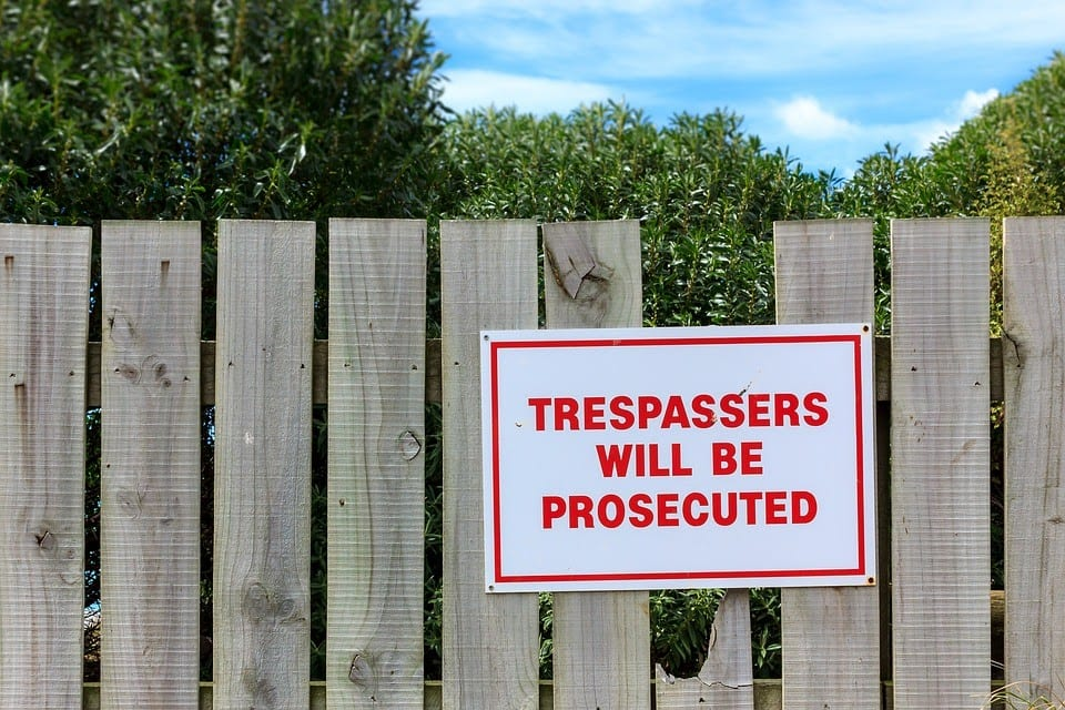 criminal trespassing can lead to heavy fines and jail time in lafayette indiana